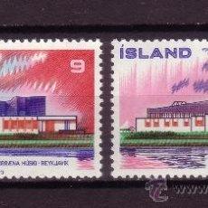 Sellos: ISLANDIA 431/32*** - AÑO 1973 - NORDEN 73. Lote 26312095