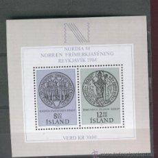 Sellos: SELLOS.NUEVOS. ISLANDIA. AÑO 1983. SERIE COMPLETA . HB. 559.560.SELLOS MODERNOS. . Lote 26904561