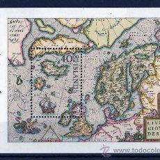 Sellos: ISLANDIA AÑO 1984 YV HB 6*** EXPOSICIÓN FILATÉLICA NORDIA'84 - MAPAS - CZ SLANIA. Lote 27481938