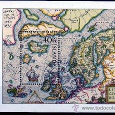 Sellos: ISLANDIA AÑO 1984 YV HB 6*** EXPOSICIÓN FILATÉLICA NORDIA'84 - MAPAS - CZ SLANIA. Lote 27481967