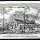 Sellos: ISLANDIA AÑO 1988 YV HB 9*** DÍA DEL SELLO - PUEBLO DE PESCADORES - CZESLAW SLANIA . Lote 27482243