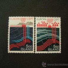 Sellos: ISLANDIA 1983 IVERT 551/2 *** EUROPA - GRANDES OBRAS DE LA HUMANIDAD. Lote 28880434