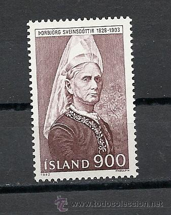 ISLANDIA 1982, YVERT Nº 538**. (Sellos - Extranjero - Europa - Islandia)