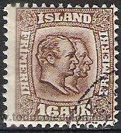 389-ISLANDIA CLAVE 1907 Nº54 VALOR 35,00€ BONITO 1907 (Sellos - Extranjero - Europa - Islandia)