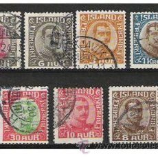 Sellos: 392-CLASICOS ISLANDIA ISLAND 1920 65,00€ CRISTIAN X. Lote 33648497