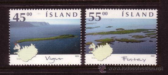 ISLANDIA 947/48*** - AÑO 2002 - ISLAS DE ISLANDIA (Sellos - Extranjero - Europa - Islandia)