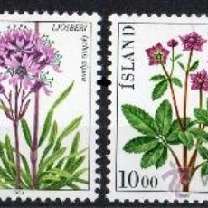 Sellos: ISLANDIA AÑO 1983 YV 545/48*** FLORES - FLORA - NATURALEZA. Lote 37874506