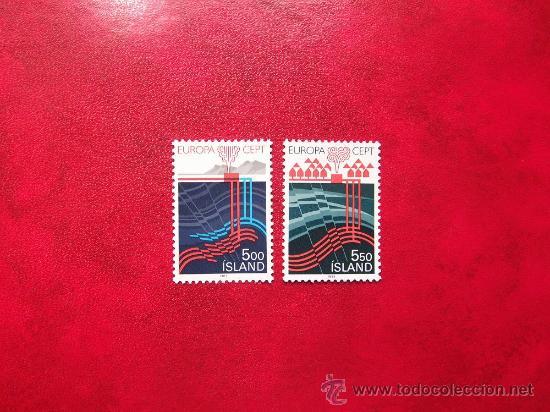 ISLANDIA 1983, YVERT 551-52, NUEVOS (Sellos - Extranjero - Europa - Islandia)