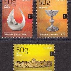 Sellos: ISLANDIA 2012. ARTESANÍA. Lote 39096991