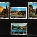 Sellos: ISLANDIA 387/90** - AÑO 1970 - PAISAJES. Lote 111659431