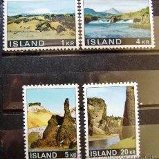 ISLANDIA - IVERT 387/90 NUEVOS*** SIN CHARNELA