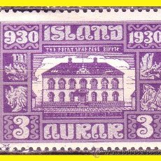 ISLANDIA 1930 IVERT nº 123 *