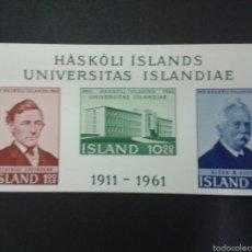 Sellos: SELLOS DE ISLANDIA. YVERT HB-3. SERIE COMPLETA NUEVA SIN CHARNELA.. Lote 53111483