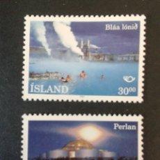 Sellos: SELLOS DE ISLANDIA. YVERT 737/8. SERIE COMPLETA NUEVA SIN CHARNELA. . Lote 53147364