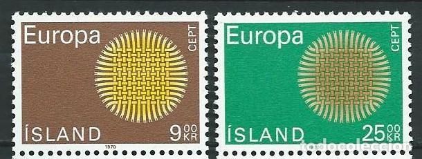 ISLANDIA, EUROPA, 1970, MNH** (Sellos - Extranjero - Europa - Islandia)