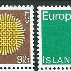 Islandia, Europa, 1970, MNH**