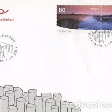 Sellos: [CF4108] ISLANDIA 2007, FDC SERIE SEPAC (NS). Lote 70254101