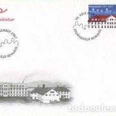 Sellos: [CF4111] ISLANDIA 2007, FDC SERIE HOSPITAL KLEPPUR (NS). Lote 70255173