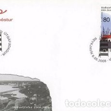 Sellos: [CF4117] ISLANDIA 2008, FDC SERIE 100 AÑOS HAFNARFJOROUR (NS). Lote 70268981