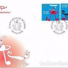 Sellos: [CF4121] ISLANDIA 2008, FDC SERIE NAVIDAD (NS). Lote 70269725