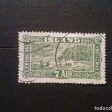 Sellos: ISLANDIA YVERT Nº 115. Lote 73273381