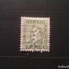 Sellos: ISLANDIA YVERT Nº 162. Lote 73275967