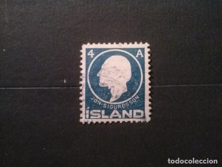 ISLANDIA , YVERT Nº 64 (Sellos - Extranjero - Europa - Islandia)