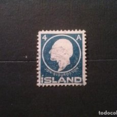 Sellos: ISLANDIA , YVERT Nº 64. Lote 73278131