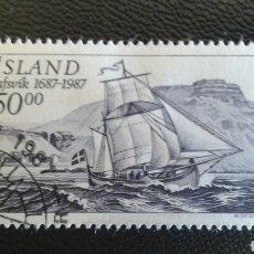 Sellos: SELLOS DE ISLANDIA. YVERT 616. SERIE COMPLETA USADA.. Lote 83345766