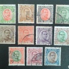 Sellos: SELLOS DE ISLANDIA. YVERT 82/5, 87/9, 81/3 Y 95. SELLOS SUELTOS.. Lote 83427082