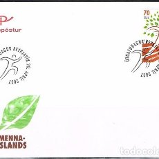 Sellos: [CF1048] ISLANDIA 2007, FDC 100 YEARS YOUTH ORGANISATION (NS). Lote 66494002