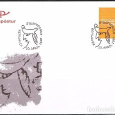 Sellos: [CF1049] ISLANDIA 2007, FDC THE NATIONAL ARCHIVES (NS). Lote 66494302
