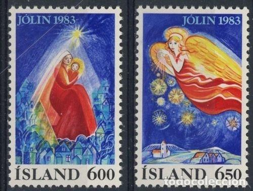 ISLANDIA 1983 IVERT 561/2 *** NAVIDAD - LA NATIVIDAD (Sellos - Extranjero - Europa - Islandia)