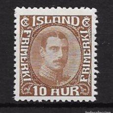 Sellos: ISLANSIA YVERT Nº 148*. Lote 93688950