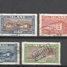 Sellos: 5010-SELLOS ISLANDIA SERIE COMPLETA 1925 Nº115/19.VALOR 20,00€.PAISAJES Y COSTUMBRES ,SELLOS CLASICO. Lote 95886835