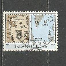 Sellos: ISLANDIA YVERT NUM. 366 USADO. Lote 97295147