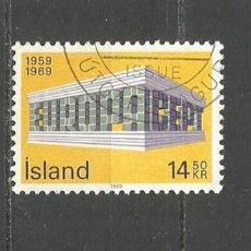 Selos: ISLANDIA YVERT NUM. 384 USADO. Lote 97295327