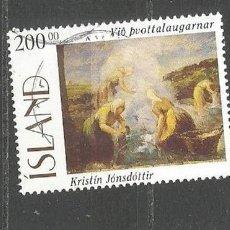 Sellos: ISLANDIA YVERT NUM. 796 USADO. Lote 97367283