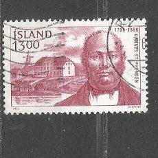 Sellos: ISLANDIA YVERT NUM. 592 USADO. Lote 97426195