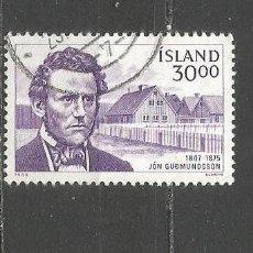 Sellos: ISLANDIA YVERT NUM. 593 USADO. Lote 97426231