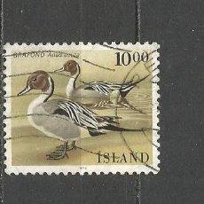 Sellos: ISLANDIA YVERT NUM. 598 USADO. Lote 97426275