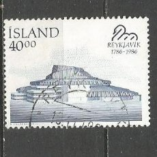 Sellos: ISLANDIA YVERT NUM. 610 USADO. Lote 97426411