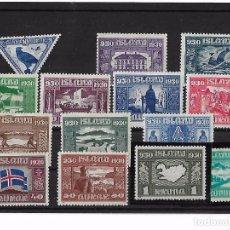 Sellos: LOTE DE SELLOS ISLANDIA ISLAND 1930. Lote 97434259