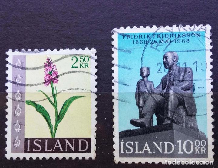 ISLANDIA - SELLOS USADOS (Sellos - Extranjero - Europa - Islandia)