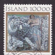 Sellos: ISLANDIA 1985 - SELLO MATASELLADO YVERT Nº 594. Lote 100222939