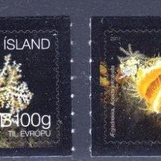 Sellos: ISLANDIA 2017 ECOSISTEMAS DEL FONDO MARINO DE ISLANDIA. Lote 106268607