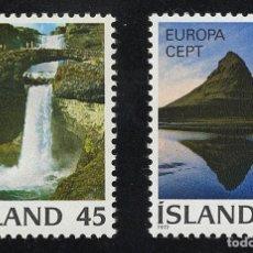 Sellos: ISLAND 1977 ** - EUROPA CEPT. Lote 107428647