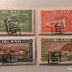 Sellos: LOTE DE SELLOS CLÁSICOS DE ISLANDIA S/C. Lote 107482979