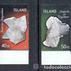 Sellos: ISLANDIA 1999.-MINERALES.- . Lote 107922591
