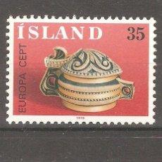 Sellos: ISLANDIA,1976,CAT.YT.467/468.. Lote 113502715